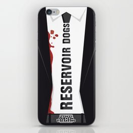 Reservoir Dogs Tribute Poster iPhone Skin