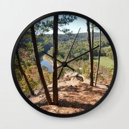 Sparrowhawk Mountain Series, No. 11 Wall Clock