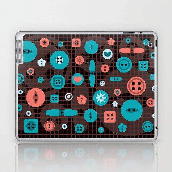 button it Laptop & iPad Skin