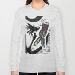 Stained glass dancer Long Sleeve T-shirt
