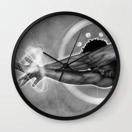 Leaned In Wall Clock