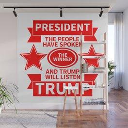 President Trump Wall Mural