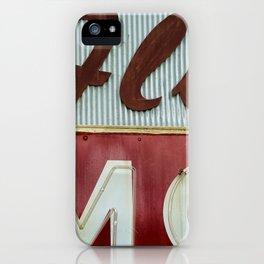 Flo Mo iPhone Case