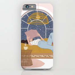 Cosy Winter Nights iPhone Case