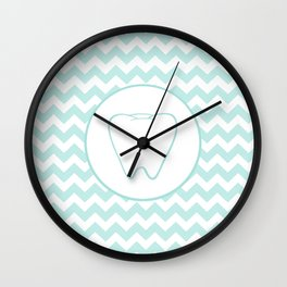 Chevron Tooth Wall Clock