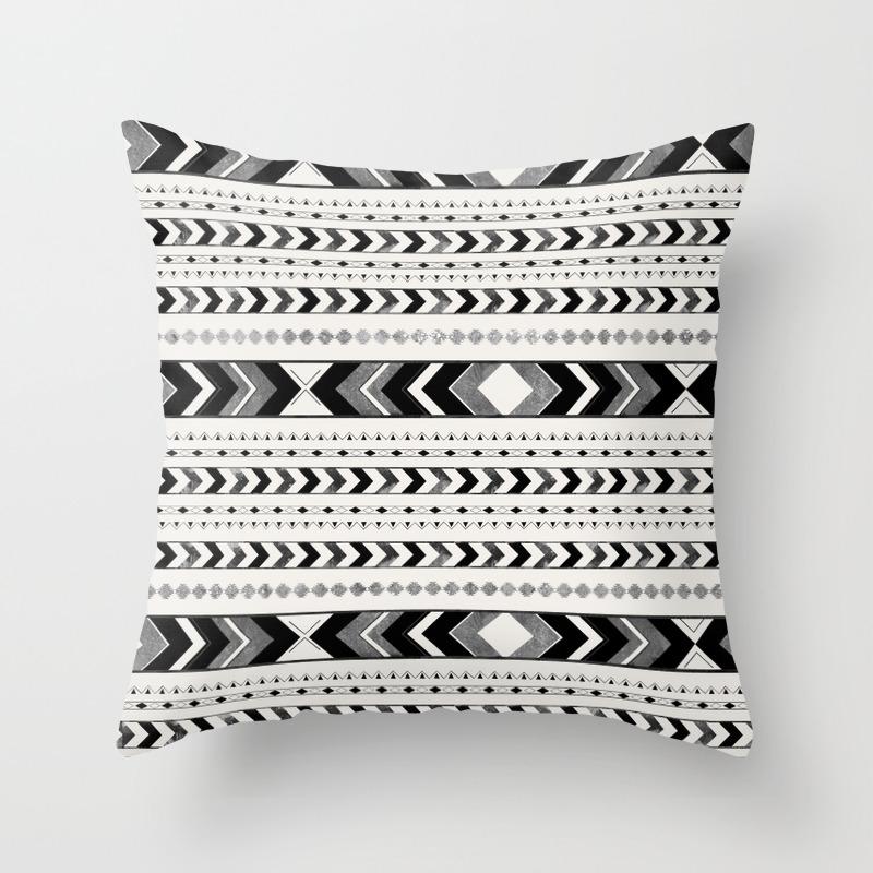 0e0cddd78 Tribal Arrow Boho Pattern #2 #aztec #decor #art #society6 Throw Pillow. by