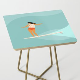 Surf girl Side Table