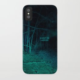 Ghost Me Harder iPhone Case