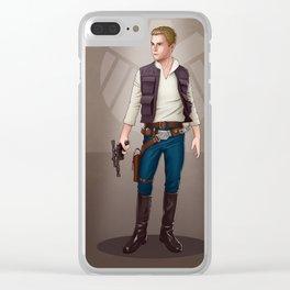 A Galaxy ar Away - Fitz Clear iPhone Case