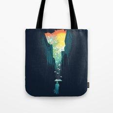 I Want My Blue Sky Tote Bag