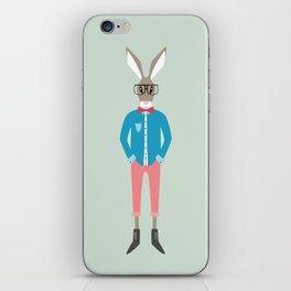 """Bohemian Bunny"" iPhone Skin"