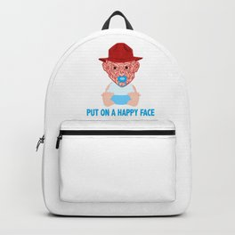 Put on a Happy Face Backpack