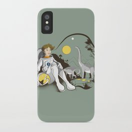The Time Traveler iPhone Case