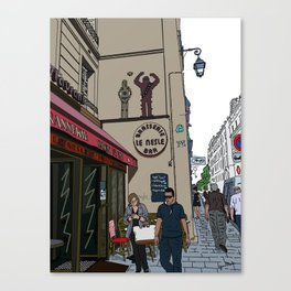 Le Nesle Bar Canvas Print