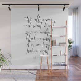 Aretha Franklin quote Wall Mural