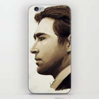 lee pace iPhone & iPod Skins featuring Lee Pace by LindaMarieAnson