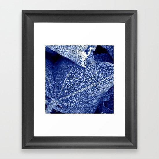cold winter II Framed Art Print