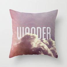 Wander (vertical) Throw Pillow