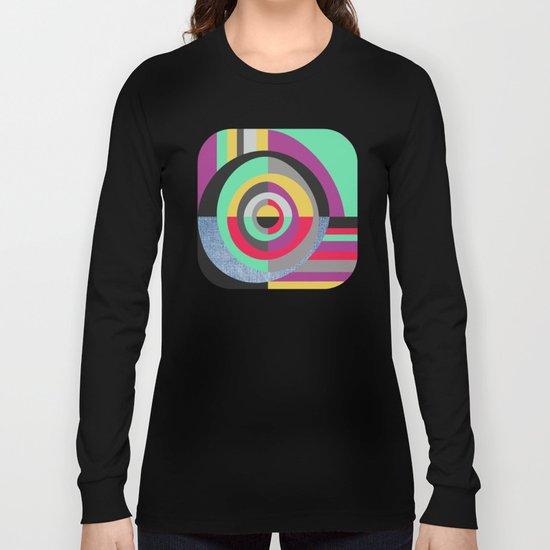 Geometric#19 Long Sleeve T-shirt