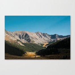 Rocky Mountain Glory Canvas Print