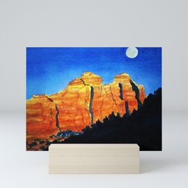 Sedona Moon Mini Art Print