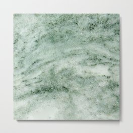 Greek Marble Metal Print