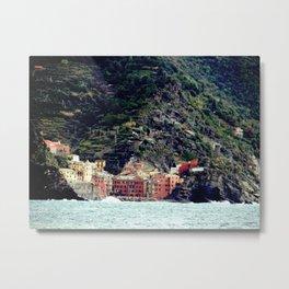 Hillside Cinque Terre Metal Print