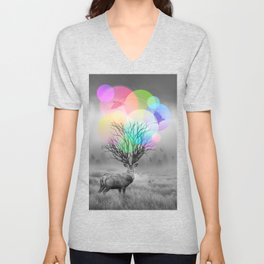 Calm Within the Chaos Unisex V-Neck