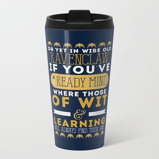 Ravenclaw Metal Travel Mug
