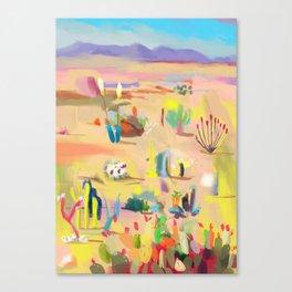 Desierto 2 Canvas Print