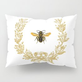 French Bee acorn wreath Pillow Sham