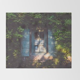 September - Landscape and Nature Photography Throw Blanket