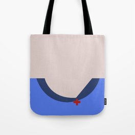 Nurse Christine Chapel Minimalist Star Trek The Original Series Trektangles startrek USS Enterprise Tote Bag
