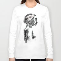 black swan Long Sleeve T-shirts featuring Swan by JsR_OtR