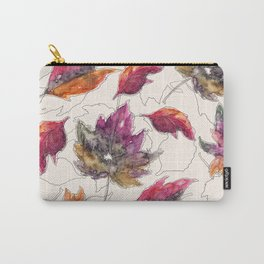 Maple Pattern Carry-All Pouch