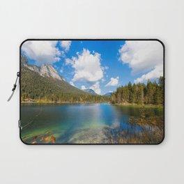 Panorama Alpin Lake Hintersee at Ramsau in Bavaria Laptop Sleeve