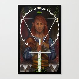Inquisitor Roan Canvas Print