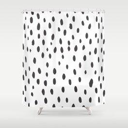 brushstrokes Shower Curtain
