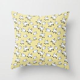 Kitty Corner Throw Pillow