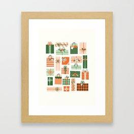 Christmas Presents Framed Art Print