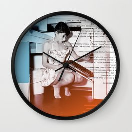 A.H. Collage Wall Clock