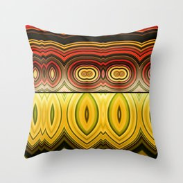 Fractured Ring 16 Throw Pillow