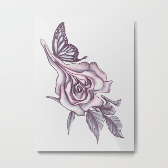 A Beautiful Anomaly Metal Print