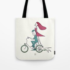 Faster than the wind Tote Bag