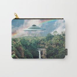 The Visitors // UFOs in Paradise Carry-All Pouch