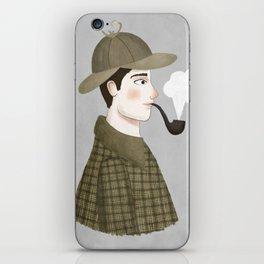 sherlock iPhone Skin