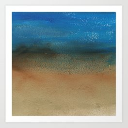 Fantasy of Water and Sand Art Print
