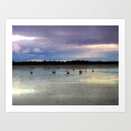Lake Lonsdale Art Print