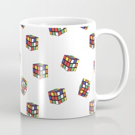 Rubik's Pattern Coffee Mug