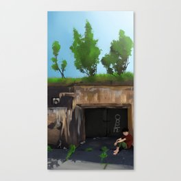 Withering Canvas Print